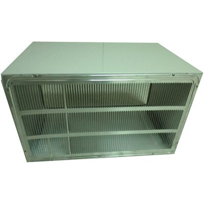 "LG 26"" Wall Sleeve and Stamped Aluminum Rear Grille for Through-the-Wall Air Conditioner"