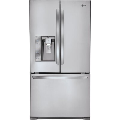 Energy Star 25 Cu. Ft. Counter-Depth French Door Refrigerator