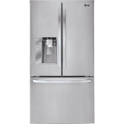 Energy Star 33 Cu. Ft. Mega Capacity French Door Refrigerator
