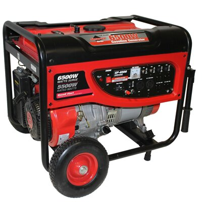 6,500 Watt Portable Gas Generator - ST-GP6500