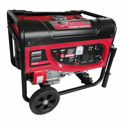 4,500 Watt Portable Gasoline Generator - ST-GP4500