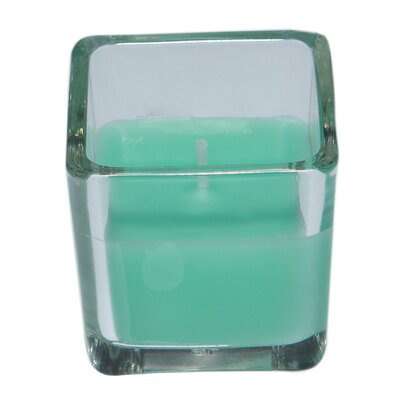 Zest Candle Square Glass Votive Candle