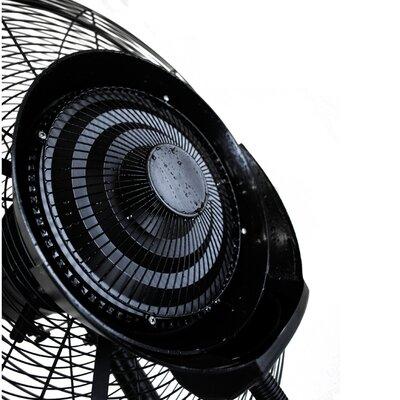 """Lava Heat Italia Lava Aire 26"""" Oscillating Pedestal Fan"""