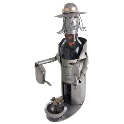 H & K SCULPTURES Green Thumb Wine Caddy