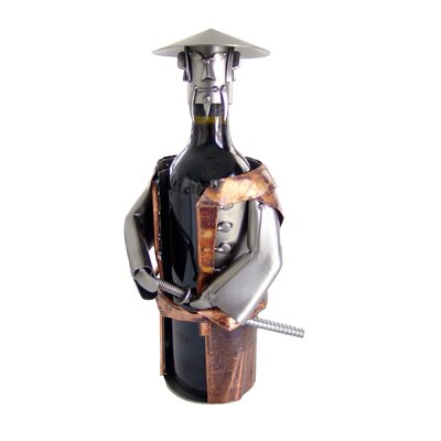 H & K SCULPTURES Samurai Wine Caddy