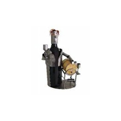 H & K SCULPTURES Wine Taster Wine Bottle Holder