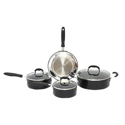 Gourmet Chef Induction Ready Nonstick 7-Piece Cookware Set