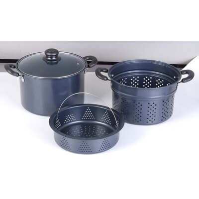 Gourmet Chef 4-Piece Pasta Cooker Set