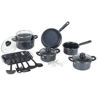 Gourmet Chef Complete 22 Piece Non Stick Cookware Set