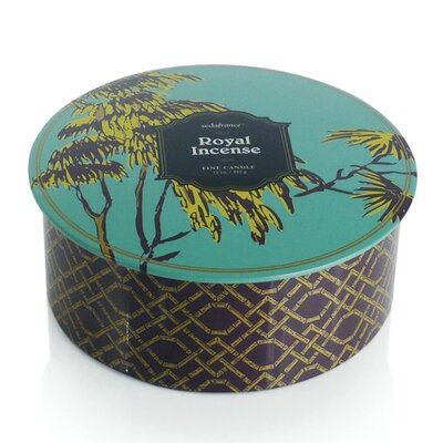 Seda France Jardin Royal Incense 3-Wick Tin Candle
