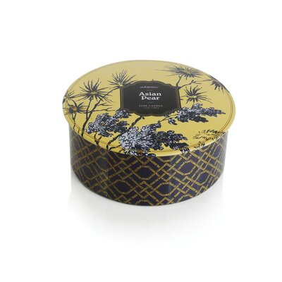 Seda France Jardin Asian Pear 3-Wick Tin Candle
