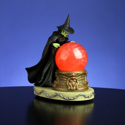 "San Francisco Music Box ""Wicked Witch"" Swirl Water Globe"