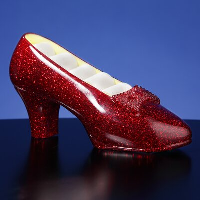 "San Francisco Music Box ""Ruby Slippers"" Musical Jewelry Holder"