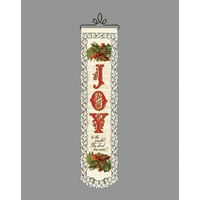 Heritage Lace Joy to the World Wall Decor