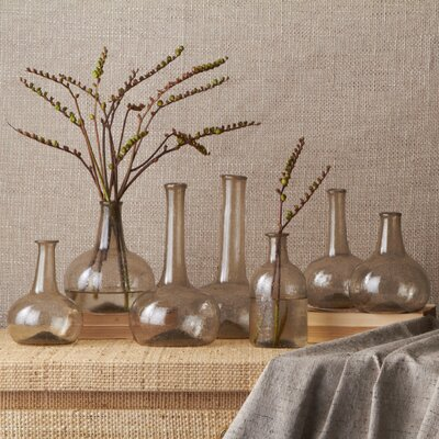Twos Company Champagne Vintage Decorative Bottle (Set of 7)