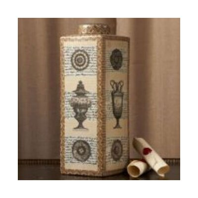 Tozai Franco Carrai Via Santo Spirito Tall Covered Decorative Jar