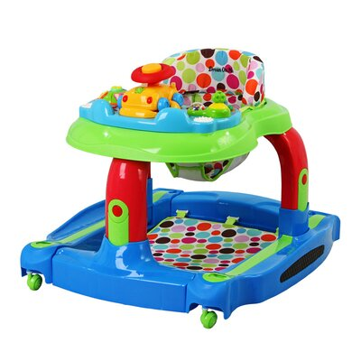 Dream On Me 2 in 1 Baby Tunes Musical Activity Baby Walker & Rocker