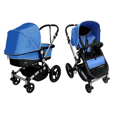 Dream On Me Acrobat Terrain Stroller and Bassine