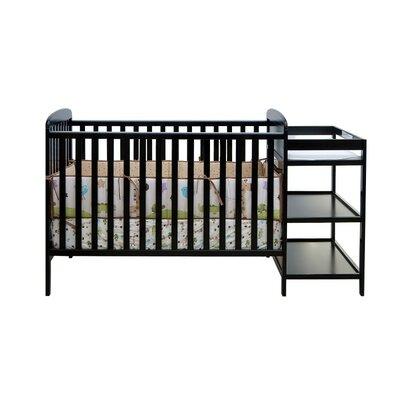 11. Black Crib And Changing Table Combo Black Crib And Changing Table .