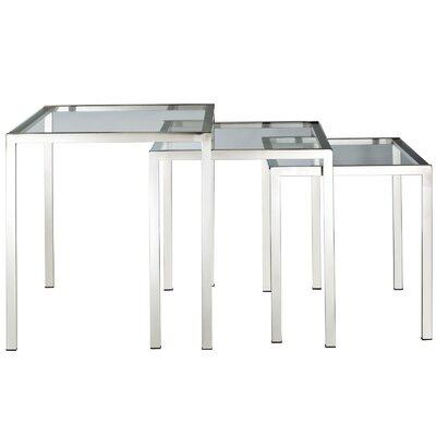 Modway Nimble 3 Piece Nesting Tables
