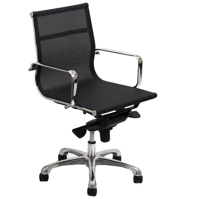 Modway Slider Mid-Back Mesh Executive Office Chair