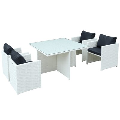 Nestle 5 Piece Dining Set