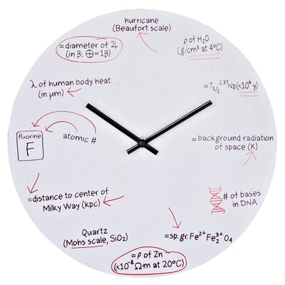 Modway Science Wall Clock