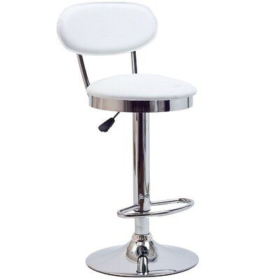 "Modway Retro 22"" Adjustable Bar Stool"