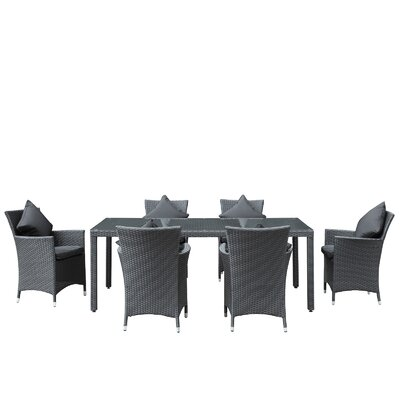 Modway Panorama 7 Piece Dining Set