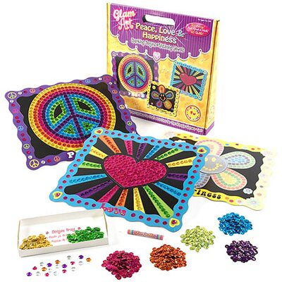 Glam Art Peace, Love and Happiness Kit