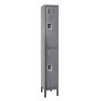 Hallowell ReadyBuilt Locker Double Tier 1 Wide (Assembled) (Quick Ship)
