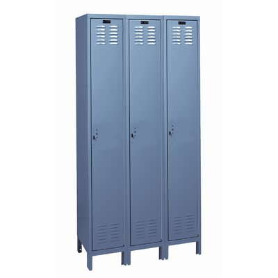Hallowell Value Max Locker Single Tier 3 Wide (Assembled) (Quick Ship)