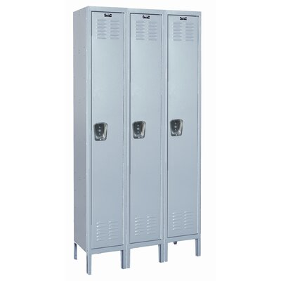 Hallowell MedSafe Locker Single Tier 3 Wide (Assembled)