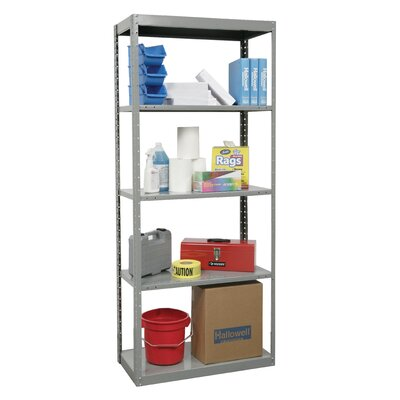 Hallowell DuraTech Shelving Heavy-Duty Pass-Through Type Individual Unit with 5 Shelves