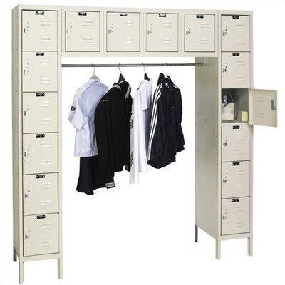 Hallowell Premium Locker 16 Person (Knock-Down)