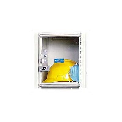 Hallowell Safety-View Plus Stock Lockers - Five Tiers - 1 Section (Assembled)