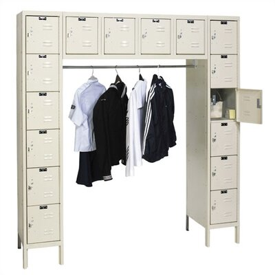 Hallowell Premium Stock Lockers - 16 Person (Assembled)