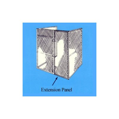 Hallowell Bulk Storage Locker Extension Panel