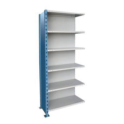 Hallowell H-Post High Capacity Closed Style 5 Shelf Shelving Unit Add-on