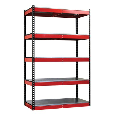 Hallowell Fort Knox Rivetwell Shelving Unit with EZ Deck