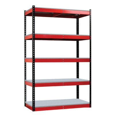 Hallowell Fort Knox Rivetwell Shelving Unit with FeatherDeck