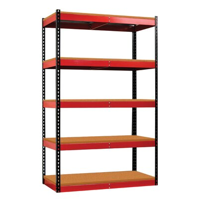 Hallowell Fort Knox Rivetwell Shelving Unit with Particle Board Deck