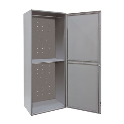 Hallowell Uniform Exchange Locker Double Tier 1 Wide (Assembled) (Quick Ship)