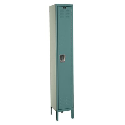 Hallowell Premium 1-Wide Single Tier Locker (Unassembled) (Quick Ship)