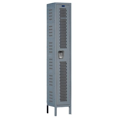 Hallowell Heavy-Duty Ventilated Locker Single Tier 1 Wide (Assembled) (Quick Ship)