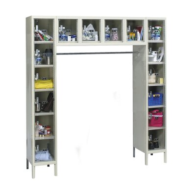Hallowell Safety-View Plus 16-Person Locker (Assembled) (Quick Ship)