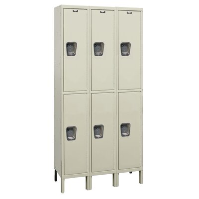 Hallowell Maintenance-Free Quiet (MFQ) Assembled Locker