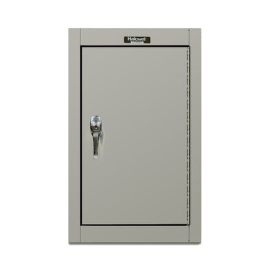 Hallowell 400 Series Wallmount Solid Assembled Storage Cabinet