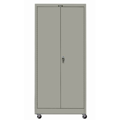 Hallowell 400 Series Mobile Solid Knock-Down Storage Cabinet