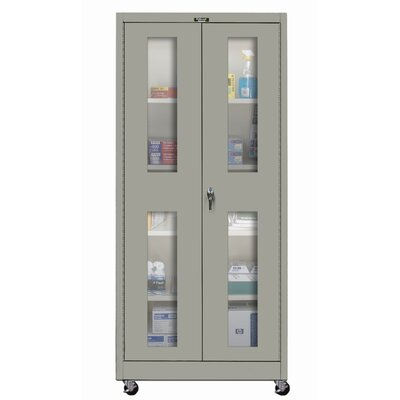 Hallowell 400 Series Mobile SV Knock-Down Storage Cabinet